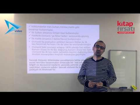 12) Osmanlı Devleti /Kültür Ve Medeniyet 1 - Hamza TATAR (2016)