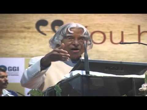 GGI  Dr  APJ Abdul Kalaam Speech