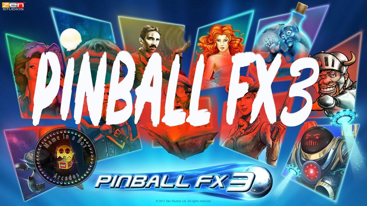 Pinball FX3 Cabinet Mode