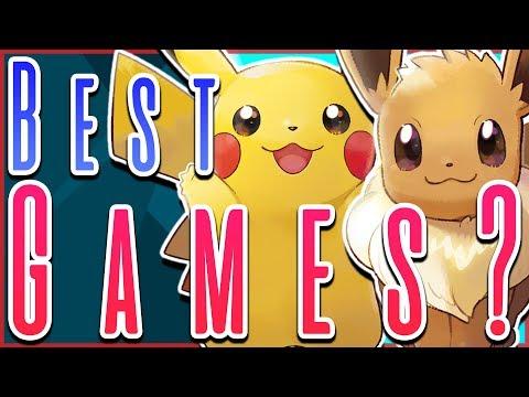 The BEST Pokémon Games? Pokémon Let's Go Pikachu and Eevee Review