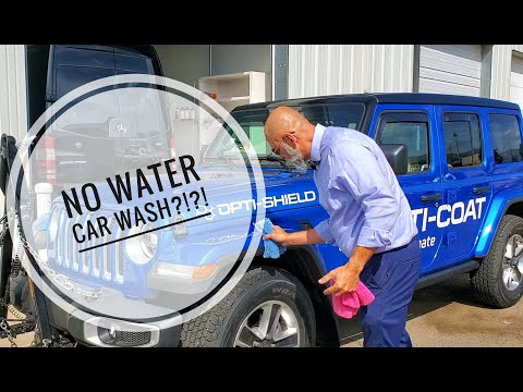 WATERLESS car washing. Is it safe? With Yvan Lacroix