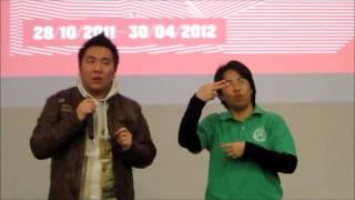 邵逸夫媒體中心360度銀幕影片欣賞 Run Shaw Creative Media Centre Grand Opening(Deaf)