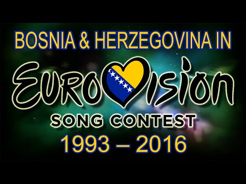 Bosnia and Herzegovina in Eurovision Song Contest (1993-2016)