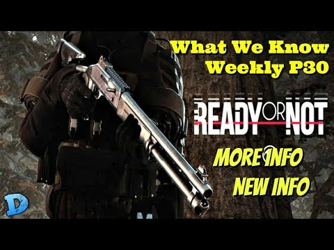 Ready Or Not - What We Know Weekly!! - More Info on ON RoN | Reddit | New Info