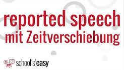 Reported speech mit Zeitverschiebung | Indirekte Rede im Englischen