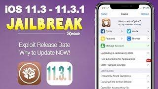 iOS 11.3.1 Jailbreak Exploit Being Released Tomorrow! Why You Should Update NOW!   JBU 55