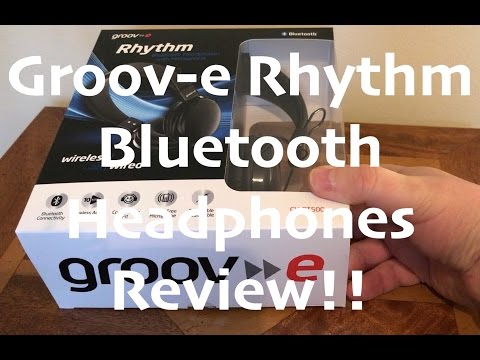Groov-e Rhythm Bluetooth Headphones Review