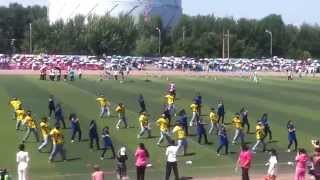 FLASH  MOB by LMU Indian Medical Students at Sports Meet
