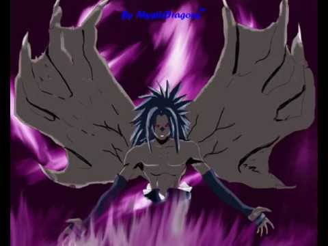 naruto drawing sasuke cursed