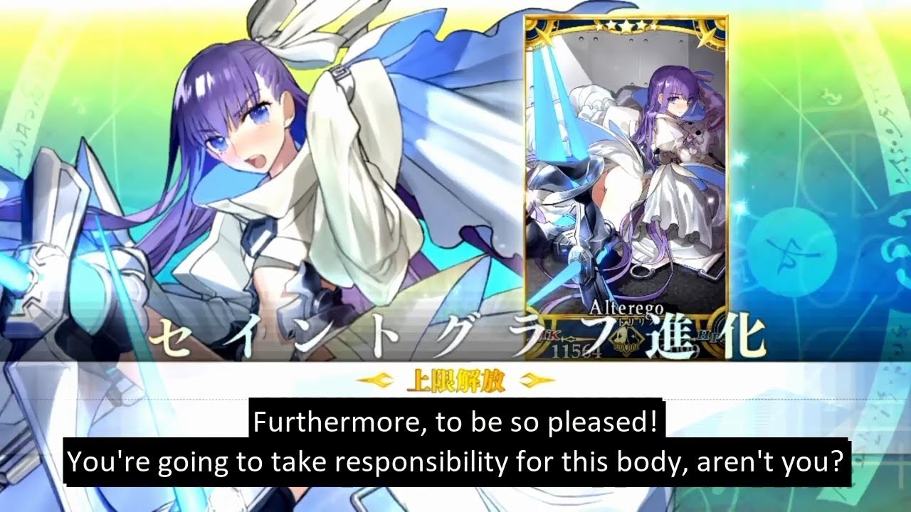 [Fate/Grand Order] Meltlilith's Voice Lines (with English Subs)