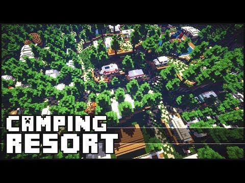 Minecraft - Amazing Camping Resort
