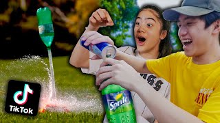 We TESTED Viral TikTok Life Hacks! (It Worked!) PART 2 | Ranz and Niana