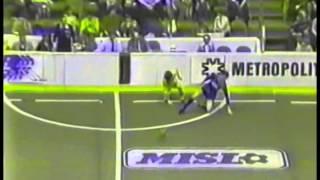 San Diego Sockers vs Pittsburgh Spirit, 1984-85 MISL Season
