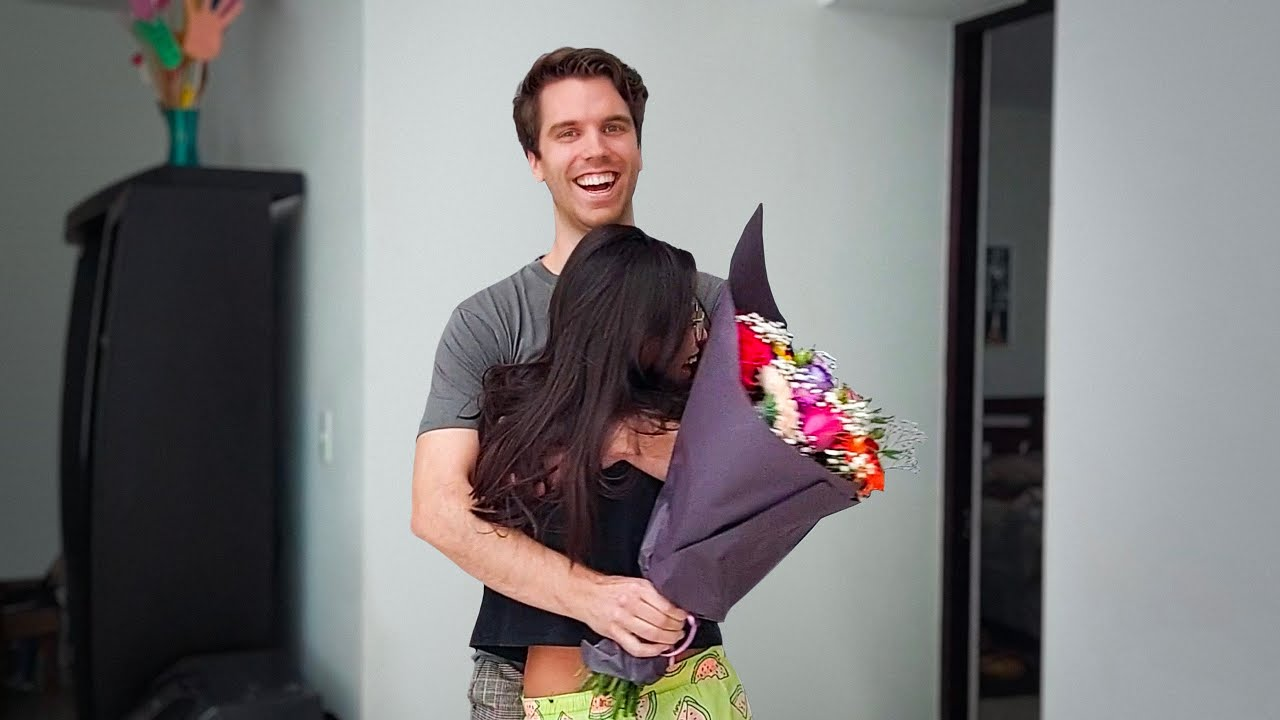 I SURPRISED MY GIRLFRIEND IN MEXICO
