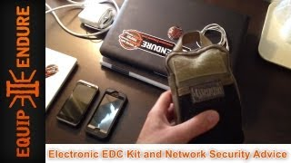 Electronic Edc Kit And Network Security Advice By Equip 2 Endure