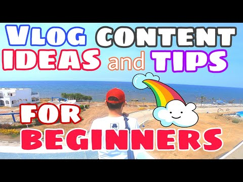 VLOG CONTENT IDEAS and TIPS FOR BEGINNERS (tagalog)