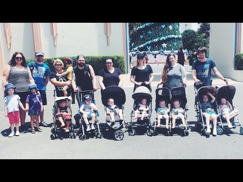 11 Kids Under 5 at a Gold Coast Theme Park!?