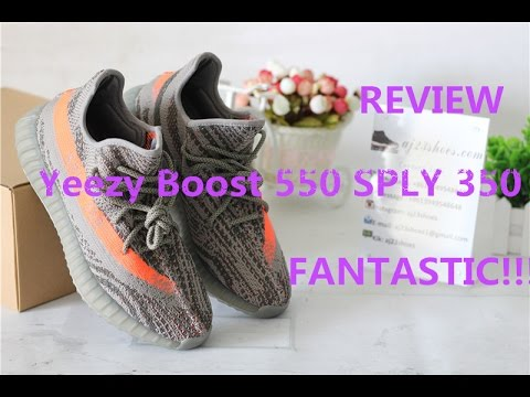 0438b0546 Yeezy Boost 550 SPLY 350 Review from aj23shoes.com - YouTube