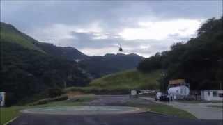 Primer vuelo Helipuerto el Avila Venezuela