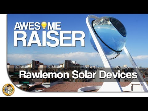 Awesome Raiser ★ #01: Rawlemon Solar Devices