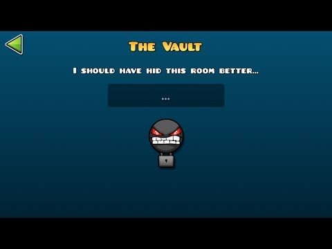ALL Vault Codes(Guide) [Geometry Dash World]