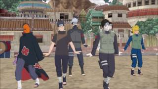 [MMD] TWICE- CHEER UP dance cover by naruto legends