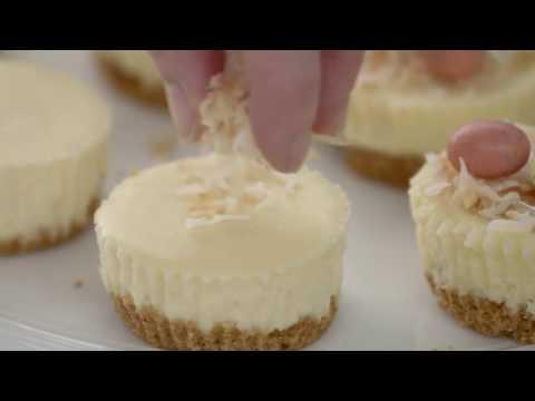 PHILADELPHIA Easter Mini Cheesecakes