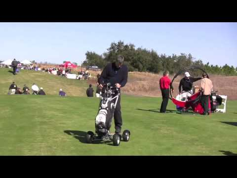 One Person Golf Cart >> MANTYS Motorized Golf Cart for One - YouTube