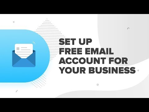How to Create Business Email for FREE & Send Receive with GMail from YouTube · Duration:  24 minutes 52 seconds