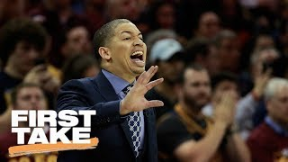 Tyronn Lue Says Celtics Harder To Defend Than Warriors | First Take | May 25, 2017