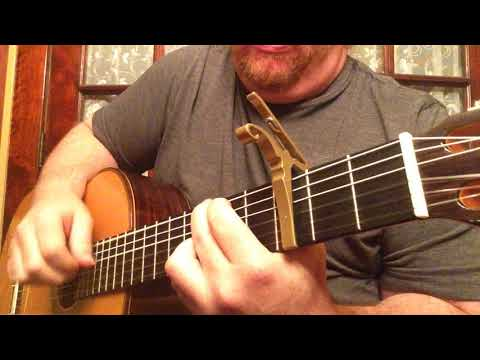 The Police - King Of Pain (Classical Guitar cover)