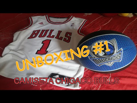 ed99808566113c Unboxing  1 Camisa Chicago Bulls - Jersey Review - YouTube