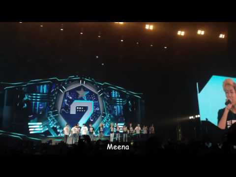 [Fan Cam] 12062016 - GOT7 Fly in Bangkok Day#2 Ending Concert