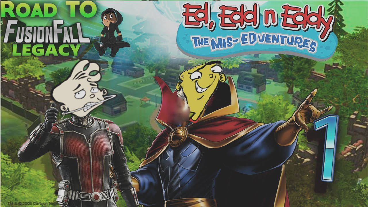 The All New Marvel Ed Edd N Eddy The Mis Edventures Part 1 Youtube