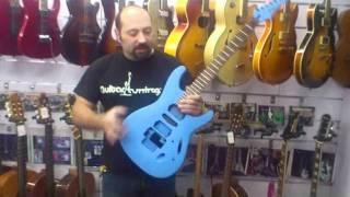 Customizacion Ibanez JS . Guitar Tuning. Taller de guitarras