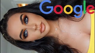 GOOGLE PICKS MY MAKEUP CHALLENGE! Carli Bybel
