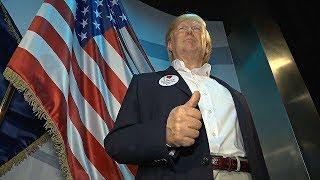 Восковая копия Дональда Трампа появилась в берлинском Музее мадам Тюссо (новости)