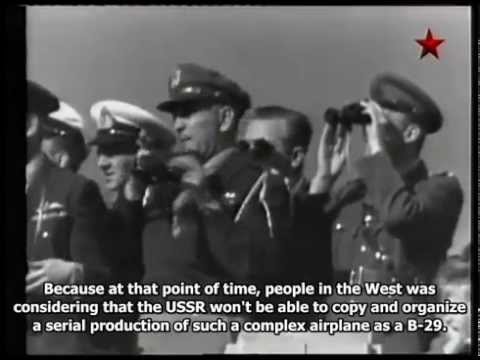 MADE in the USSR - Tupolev Tu 4 Long Range Bomber (Eng subs)