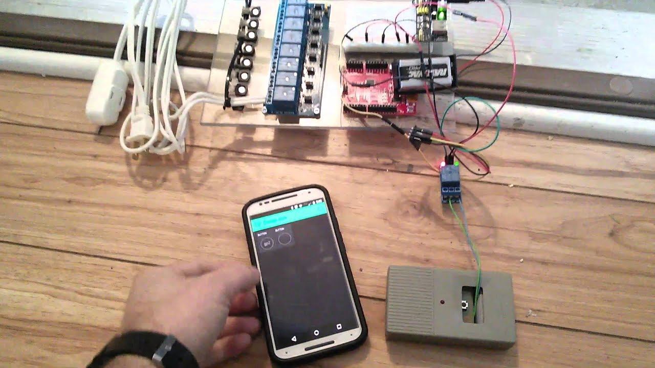 Blynk garage door control esp8266 from cell phone youtube blynk garage door control esp8266 from cell phone rubansaba