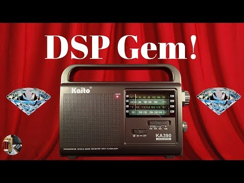 Kaito KA390 AM FM SW WB Emergency Radio Unboxing & Review