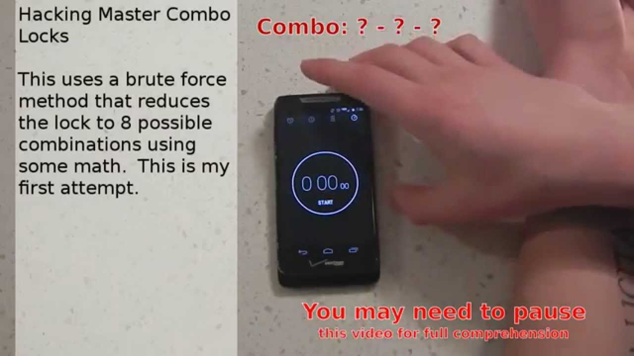 Crack Any Master Combination Lock In 8 Tries Or Less Using This Calculator Null Byte Wonderhowto