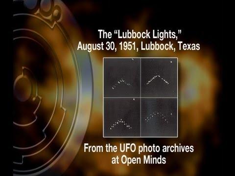 UFO Lubbock Lights August 30, 1951, Lubbock, Texas