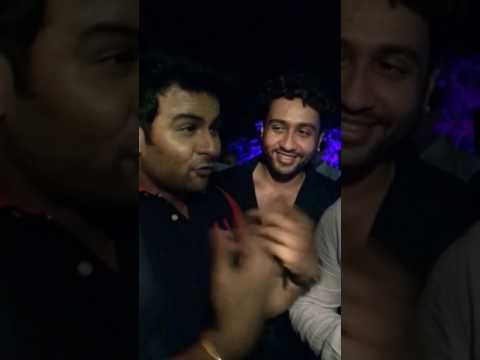 Dr.sanket as Sanjay dutt with Sanjay Dutt  and Shekhar Suman