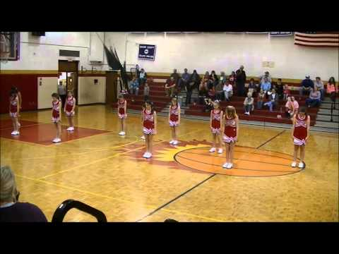 nolachuckey elementary school cheerleaders