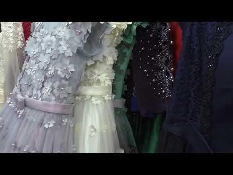 Вечерние  и бальные  платья  , май 2019, рынок Дордой , Бишкек