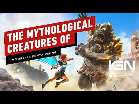 The Mythological Creatures of Immortals Fenyx Rising - IGN First