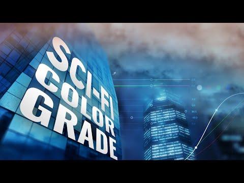 Sci-Fi COLOR GRADE Tutorial - Adobe Premiere Pro CC 2019 thumbnail