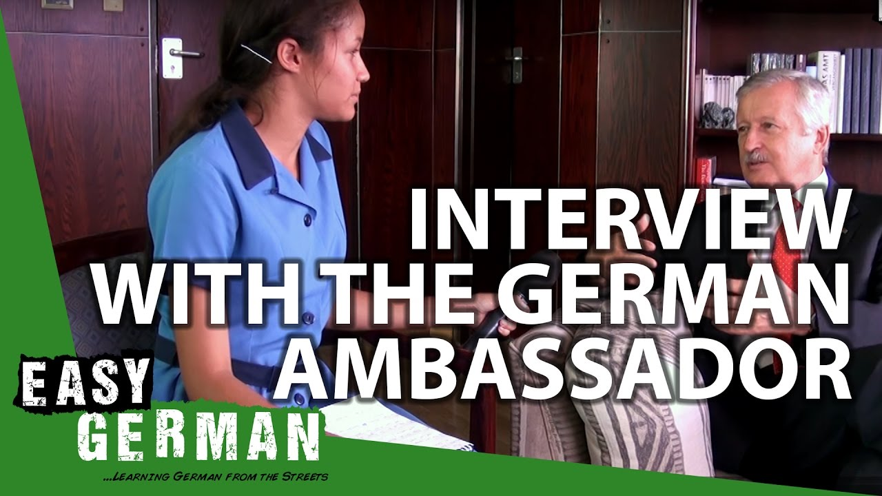 Interview with the German Ambassador in Namibia | Easy German 135 ...