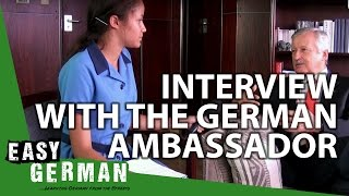 Interview with the German Ambassador in Namibia | Easy German 135