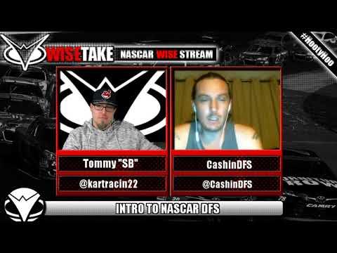 NASCAR DraftKings Podcast - Intro to Nascar - 2018 w/ @KartRacin22 & @CashinDFS
